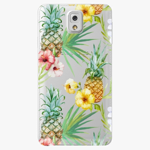 Plastový kryt iSaprio - Pineapple Pattern 02 - Samsung Galaxy Note 3