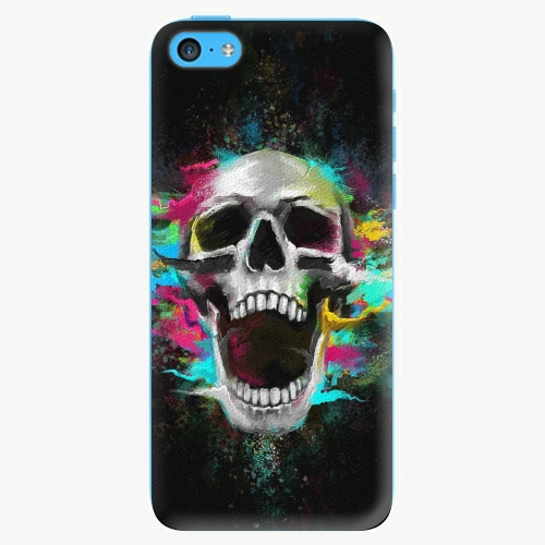 Plastový kryt iSaprio - Skull in Colors - iPhone 5C