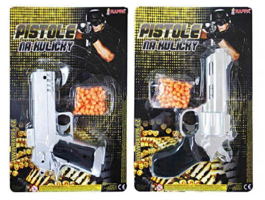 Pistole na kuličky 2 druhy
