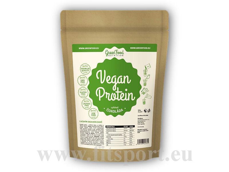 Vegan Protein 500g-cokolada