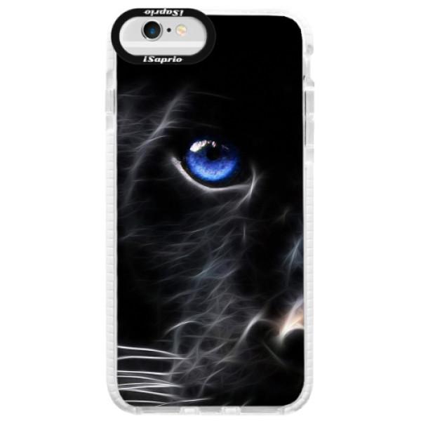 Silikonové pouzdro Bumper iSaprio - Black Puma - iPhone 6 Plus/6S Plus