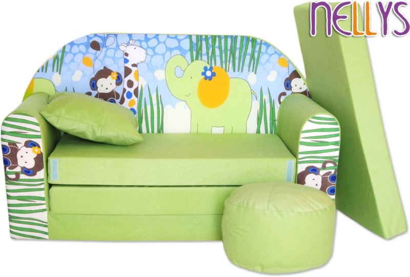 nellys-rozkladaci-detska-pohovka-06r-slon-zeleny
