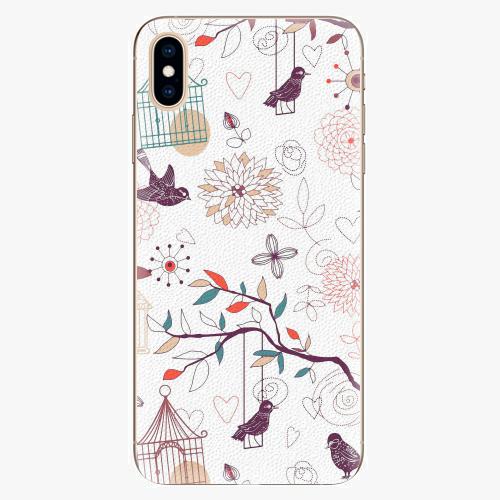 Plastový kryt iSaprio - Birds - iPhone XS Max
