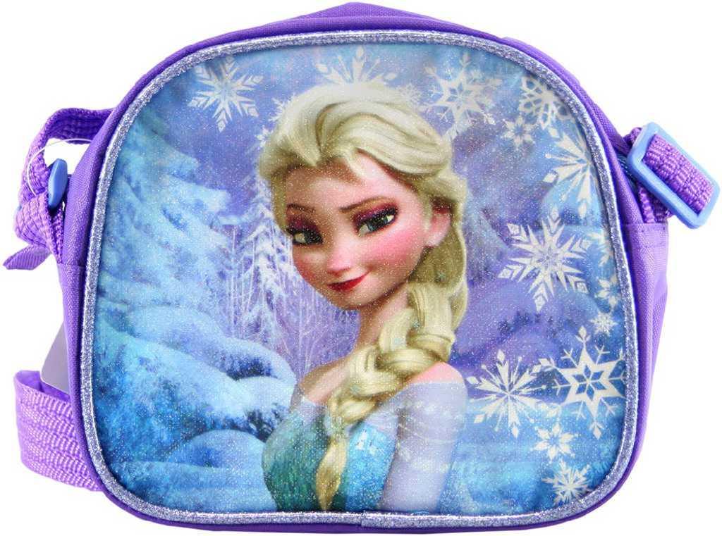 ccfb201aba Taštička dětská přes rameno fialová Frozen (Ledové Království) holčičí