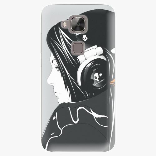 Plastový kryt iSaprio - Headphones - Huawei Ascend G8