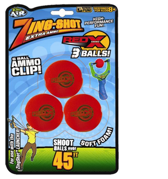 EpLine Zing Shot Red X Power ball míčky pro prakostřel