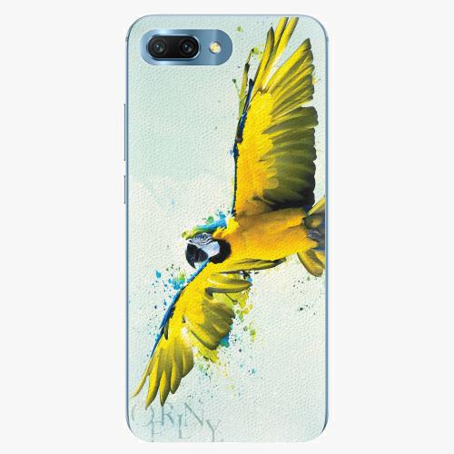 Silikonové pouzdro iSaprio - Born to Fly - Huawei Honor 10