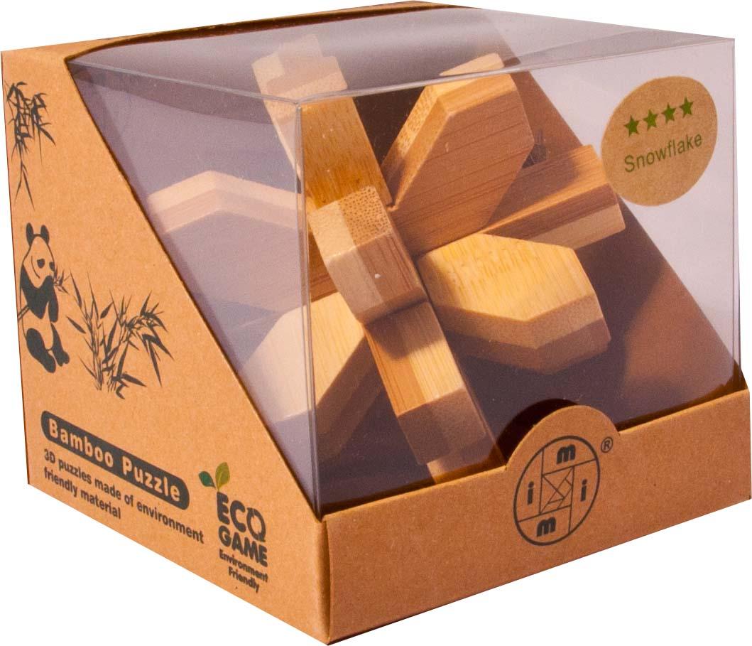 Bambusový hlavolam - Ježek