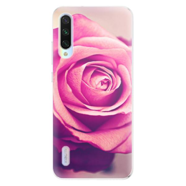 Odolné silikonové pouzdro iSaprio - Pink Rose - Xiaomi Mi A3