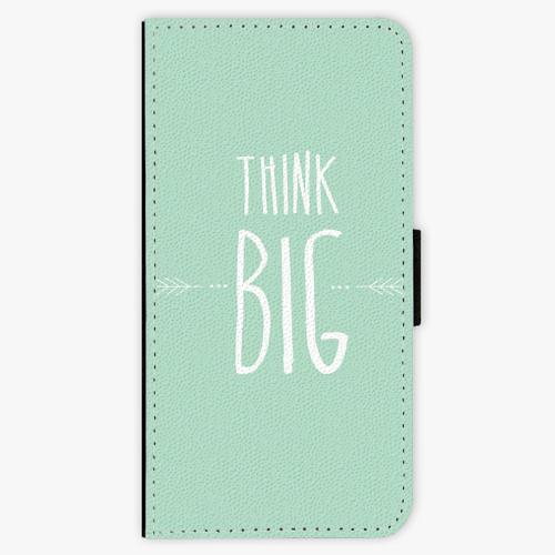 Flipové pouzdro iSaprio - Think Big - iPhone 8 Plus