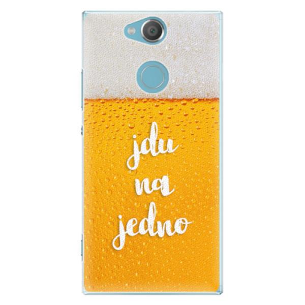 Plastové pouzdro iSaprio - Jdu na jedno - Sony Xperia XA2