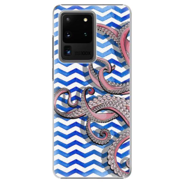 Plastové pouzdro iSaprio - Octopus - Samsung Galaxy S20 Ultra