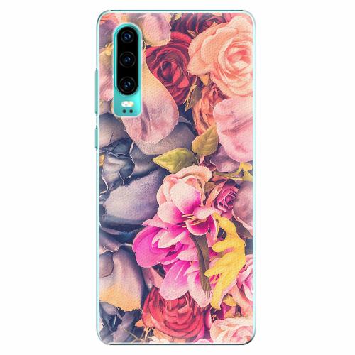 Plastový kryt iSaprio - Beauty Flowers - Huawei P30