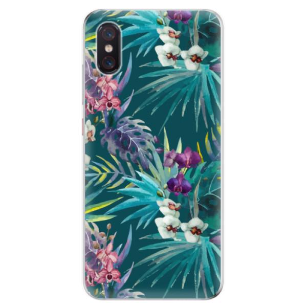 Odolné silikonové pouzdro iSaprio - Tropical Blue 01 - Xiaomi Mi 8 Pro