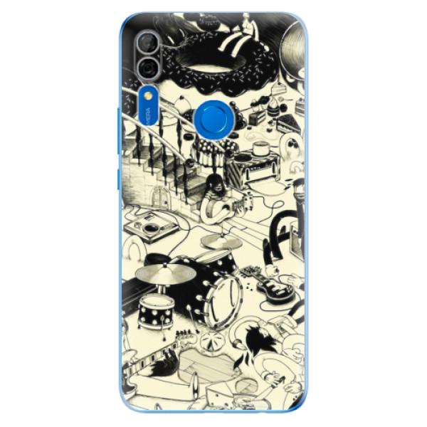 Odolné silikonové pouzdro iSaprio - Underground - Huawei P Smart Z