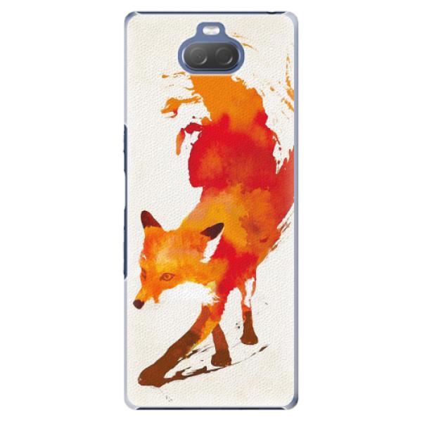 Plastové pouzdro iSaprio - Fast Fox - Sony Xperia 10 Plus