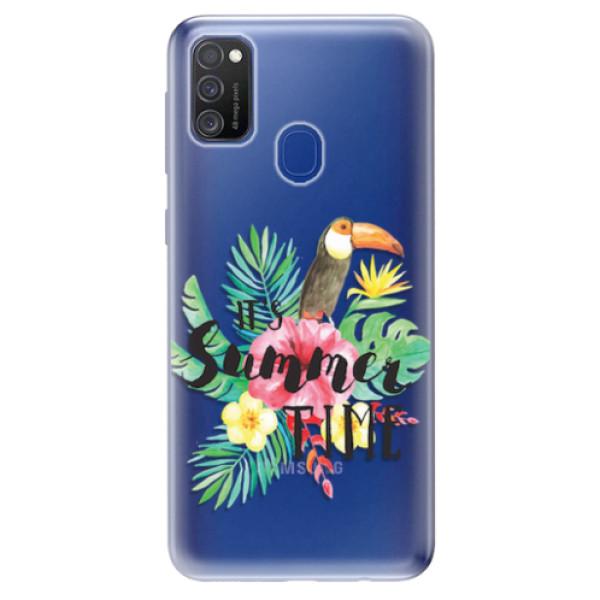 Odolné silikonové pouzdro iSaprio - Summer Time - Samsung Galaxy M21