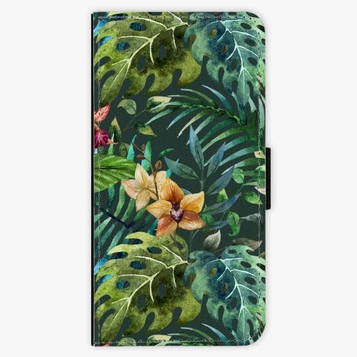 Flipové pouzdro iSaprio - Tropical Green 02 - iPhone 7 Plus