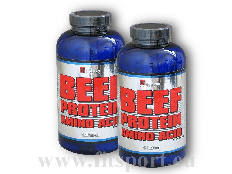 2x Beef Amino 250 tablet