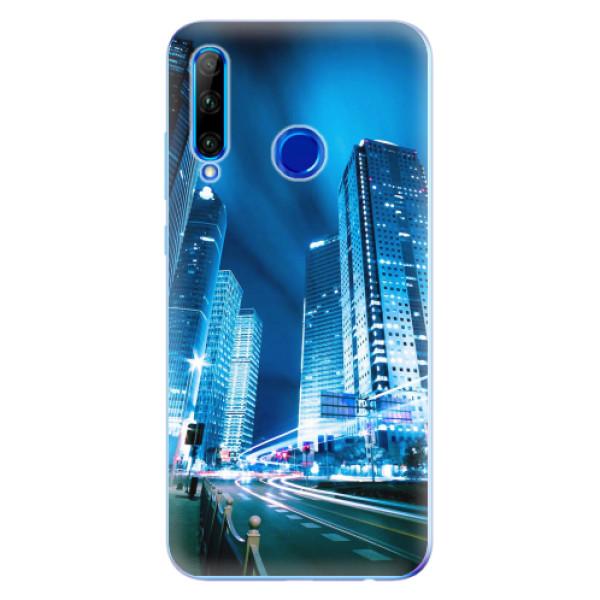 Odolné silikonové pouzdro iSaprio - Night City Blue - Huawei Honor 20 Lite