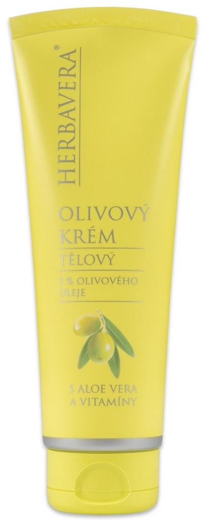 Olivový krém s aloe vera a vitamíny 120 ml