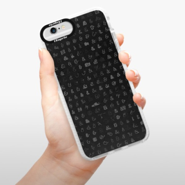Silikonové pouzdro Bumper iSaprio - Ampersand 01 - iPhone 6/6S