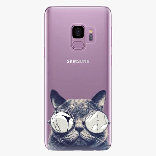 Plastový kryt iSaprio - Crazy Cat 01 - Samsung Galaxy S9