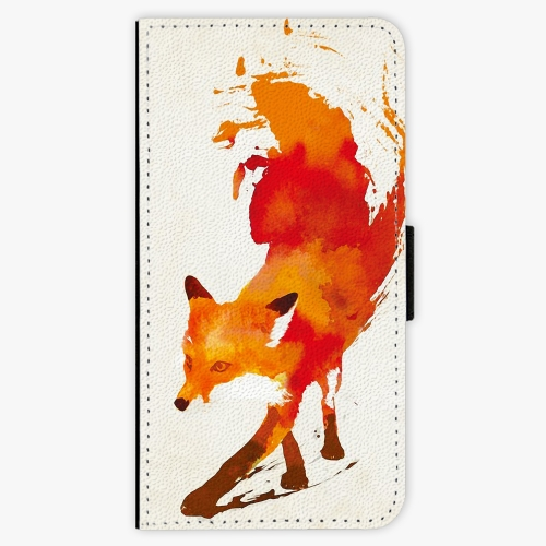 Flipové pouzdro iSaprio - Fast Fox - Sony Xperia X Compact