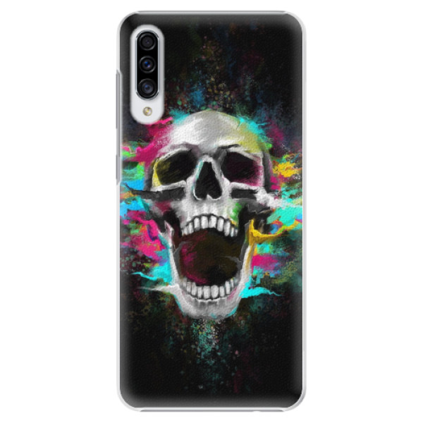 Plastové pouzdro iSaprio - Skull in Colors - Samsung Galaxy A30s