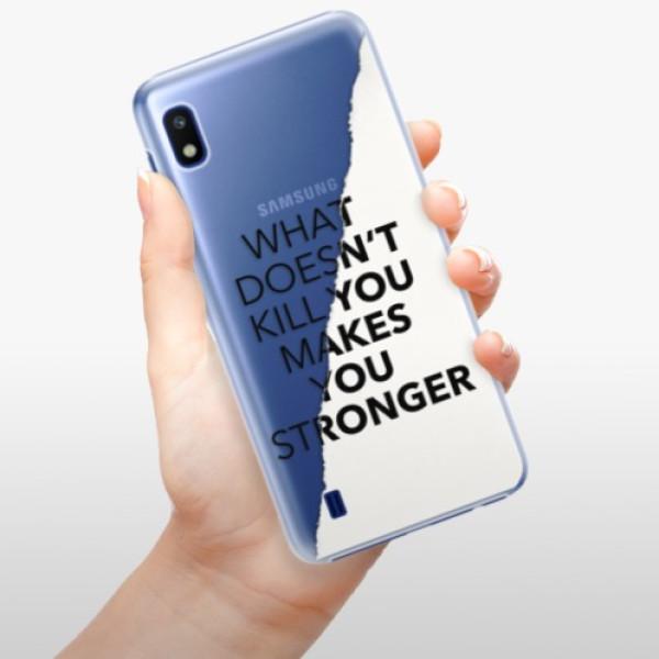 Plastové pouzdro iSaprio - Makes You Stronger - Samsung Galaxy A10