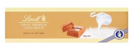 Lindt Švýcarská mléčná čokoláda 300g