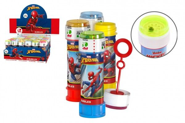 Bublifuk 60ml Spider-Man 11,5cm 4 barvy