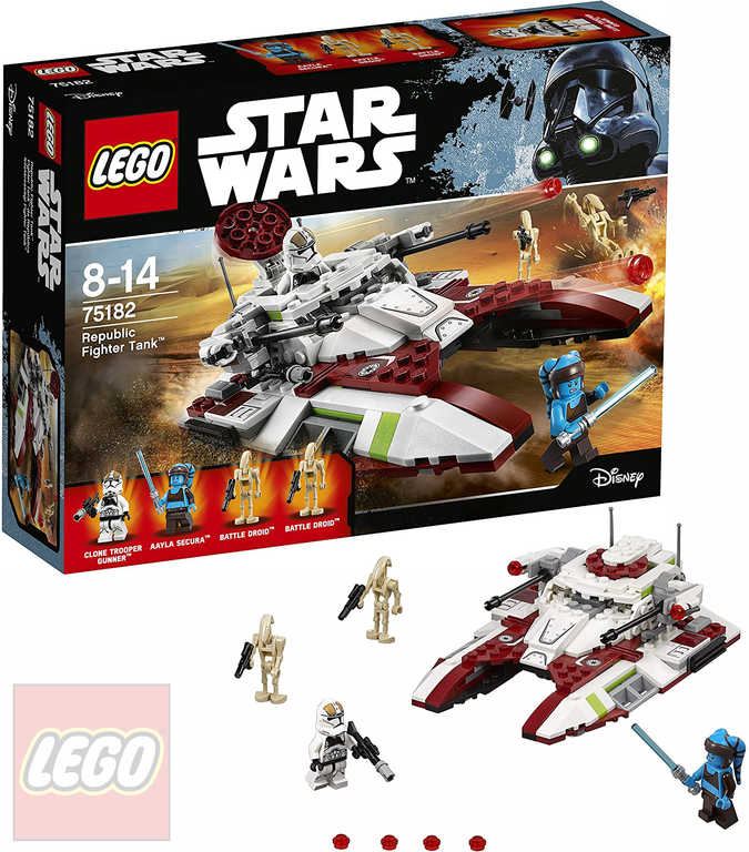 LEGO STAR WARS Republic Fighter Tank 75182 STAVEBNICE