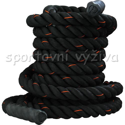 PowerSystem posilovací lano BATTLE ROPE 12m