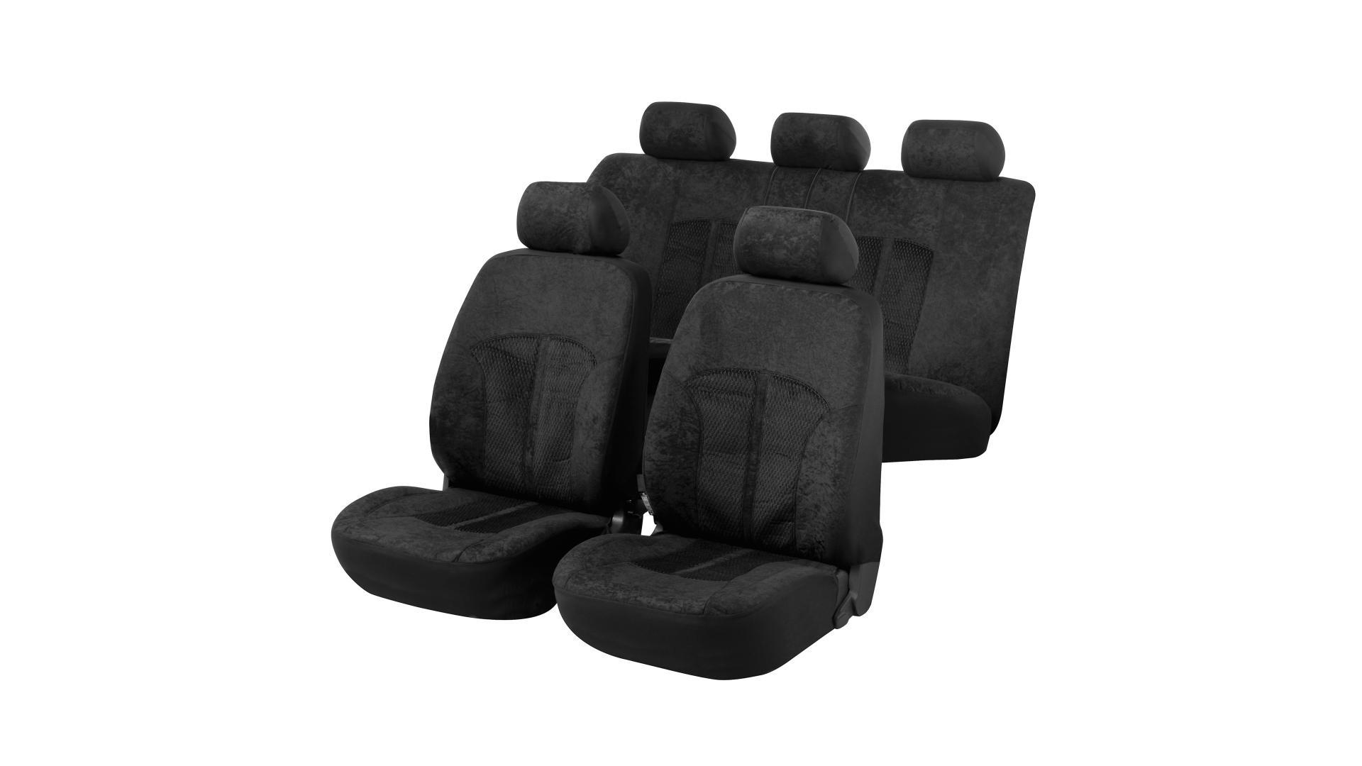 Walser Car Seat Cover Velvet made of Polyester ZIPP IT