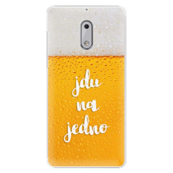 Plastové pouzdro iSaprio - Jdu na jedno - Nokia 6