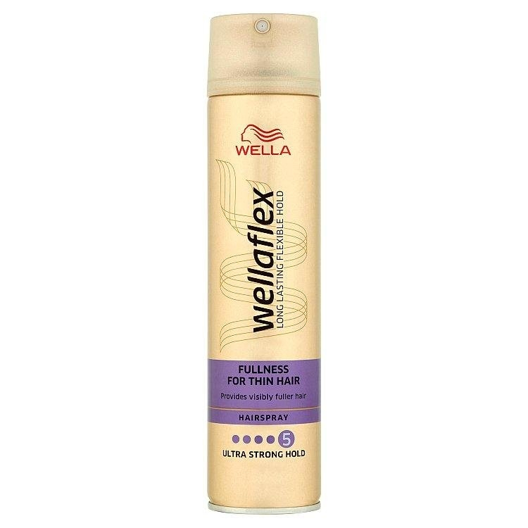 Wellaflex Fullness lak na vlasy jemné vlasy 250 ml