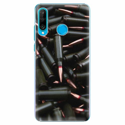 Plastový kryt iSaprio - Black Bullet - Huawei P30 Lite