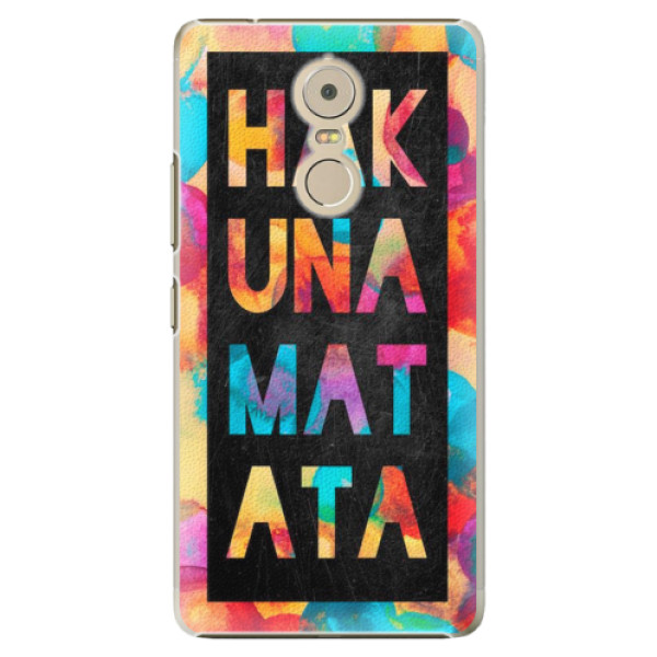 Plastové pouzdro iSaprio - Hakuna Matata 01 - Lenovo K6 Note