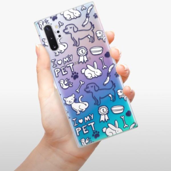 Odolné silikonové pouzdro iSaprio - Love my pets - Samsung Galaxy Note 10+