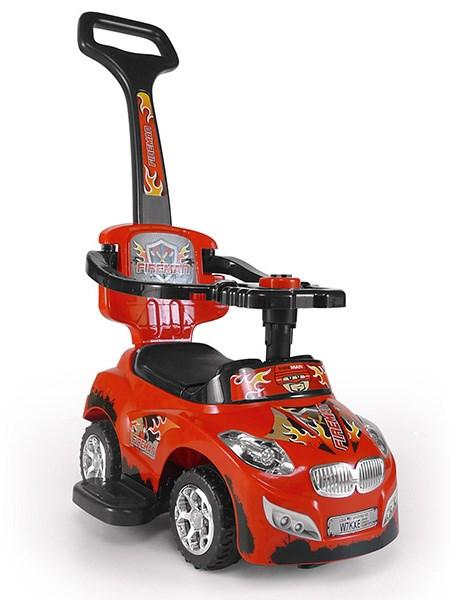 Dětské jezdítko 2v1 Milly Mally Happy - red - červená