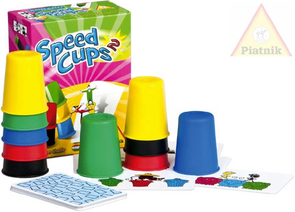 PIATNIK Hra Speed Cups 2 *SPOLEČENSKÉ HRY*