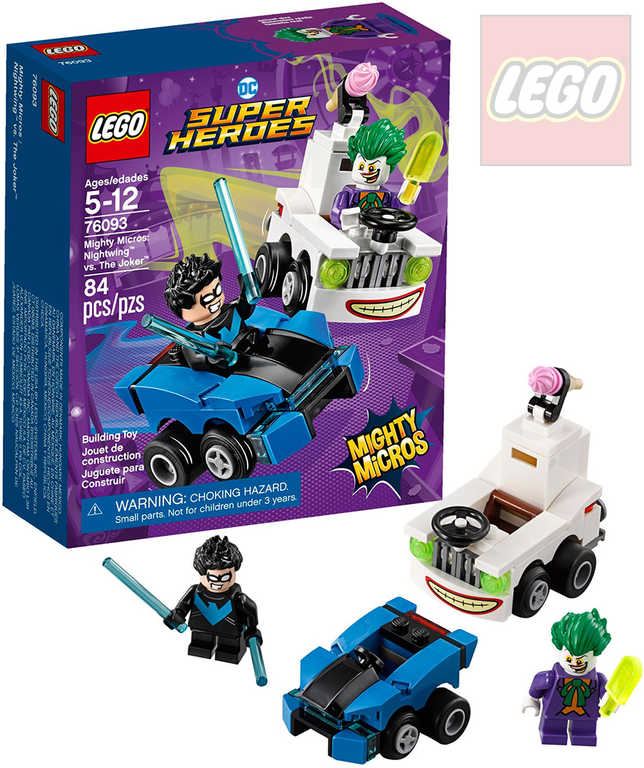 LEGO SUPER HEROES Mighty Micros: Nightwing vs. Joker STAVEBNICE 76093