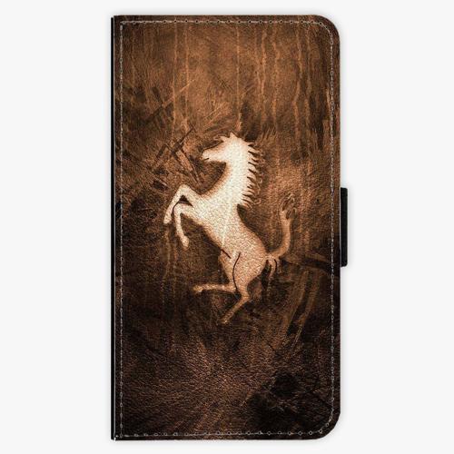 Flipové pouzdro iSaprio - Vintage Horse - Samsung Galaxy S7
