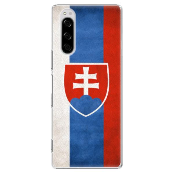 Plastové pouzdro iSaprio - Slovakia Flag - Sony Xperia 5