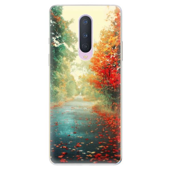 Odolné silikonové pouzdro iSaprio - Autumn 03 - OnePlus 8