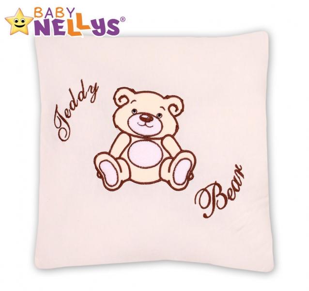 Polštářek 40x40 Teddy Bear - smetanový