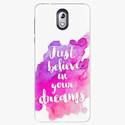 Plastový kryt iSaprio - Believe - Nokia 3.1