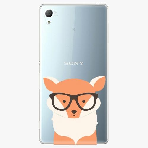 Plastový kryt iSaprio - Orange Fox - Sony Xperia Z3+ / Z4