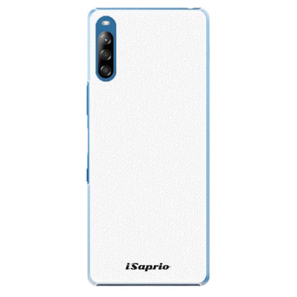 Plastové pouzdro iSaprio - 4Pure - bílý - Sony Xperia L4